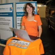 Jacqueline Schneider von Deltaplan - Software für Busunternehmen