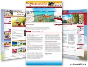 Kooperation Deltaplan und Reise-CMS